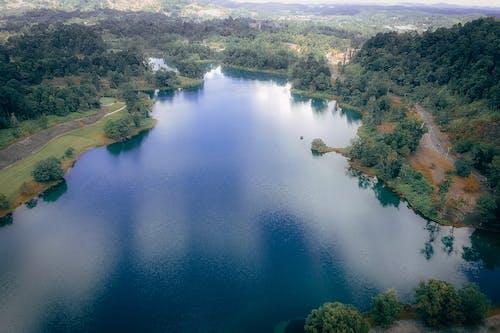 Foto stok gratis air, alam, fotografi drone, fotografi udara