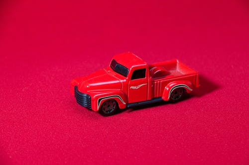 Darmowe zdjęcie z galerii z czerwony samochód, samochód, zabawka, zbliżenie