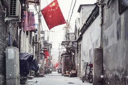 Безкоштовне стокове фото на тему «下雪, 冬天, 北京, 城市»