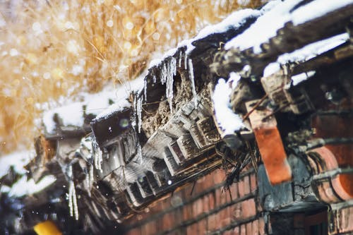 Безкоштовне стокове фото на тему «冬天, 冰, 北京, 屋檐»