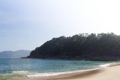 Foto d'estoc gratuïta de bellesa a la natura, cel blau, cel clar, Fons de pantalla 4k