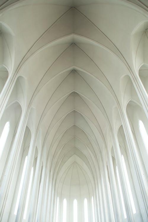 Foto d'estoc gratuïta de arquitectura, blanc, brillant, capella