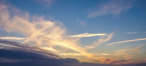 Základová fotografie zdarma na téma modrá, mraky, obloha, počasí