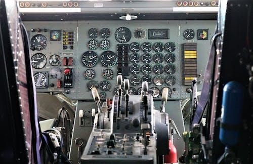 飛機, 駕駛艙 的 免費圖庫相片
