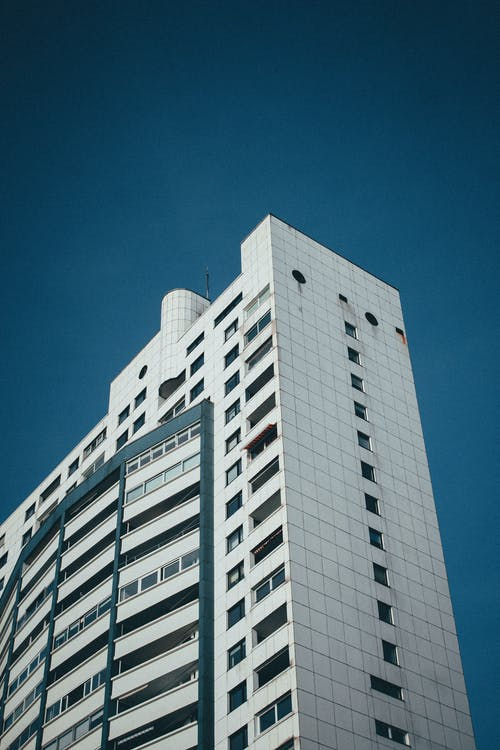 alto, architettura, commercio