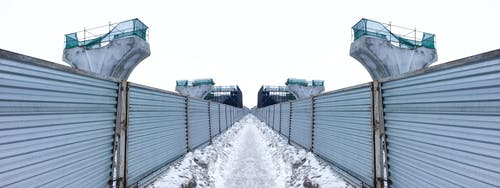 Free stock photo of constructing, fence, road