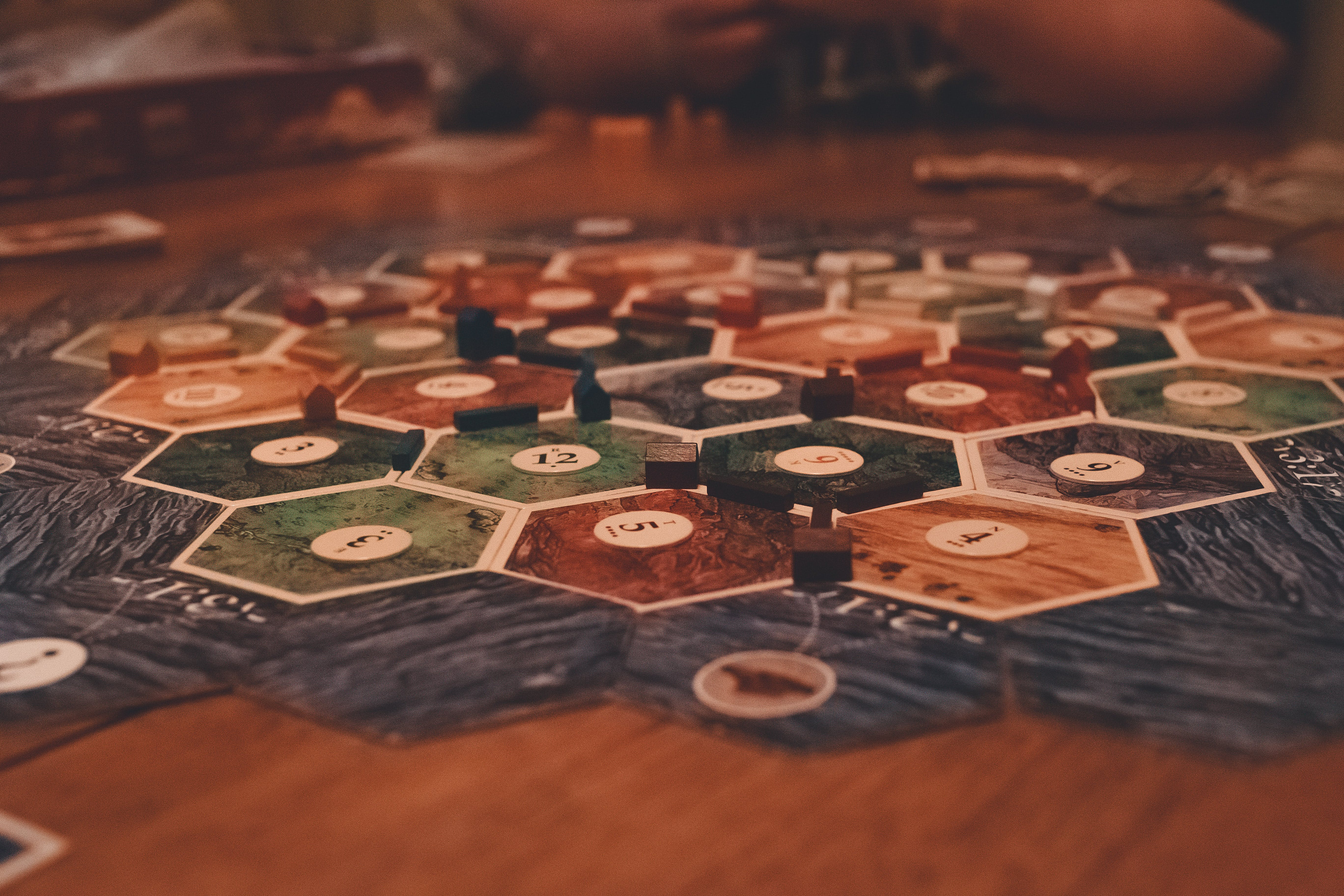 Free stock photo of blur, board game, cards, cities