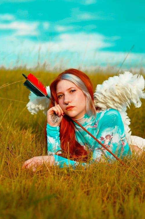 Foto profissional grátis de anjo, cores claras, cupido, gengibre