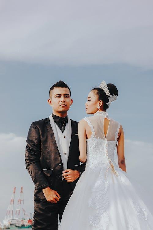 Free stock photo of beach wedding, pre-wedding, prewedding, tegal