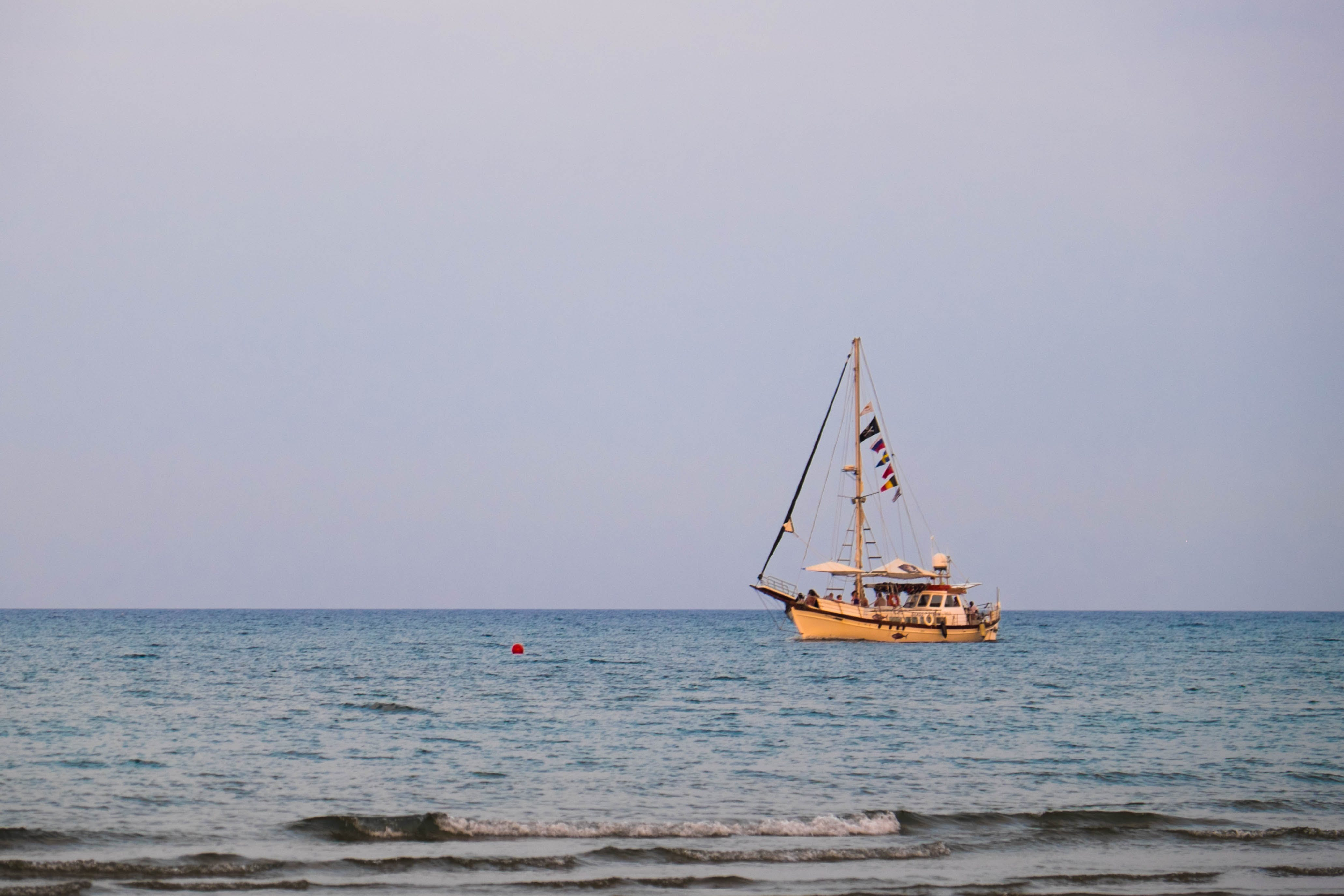 Free stock photo of boat, cyprus, fish, fishermen
