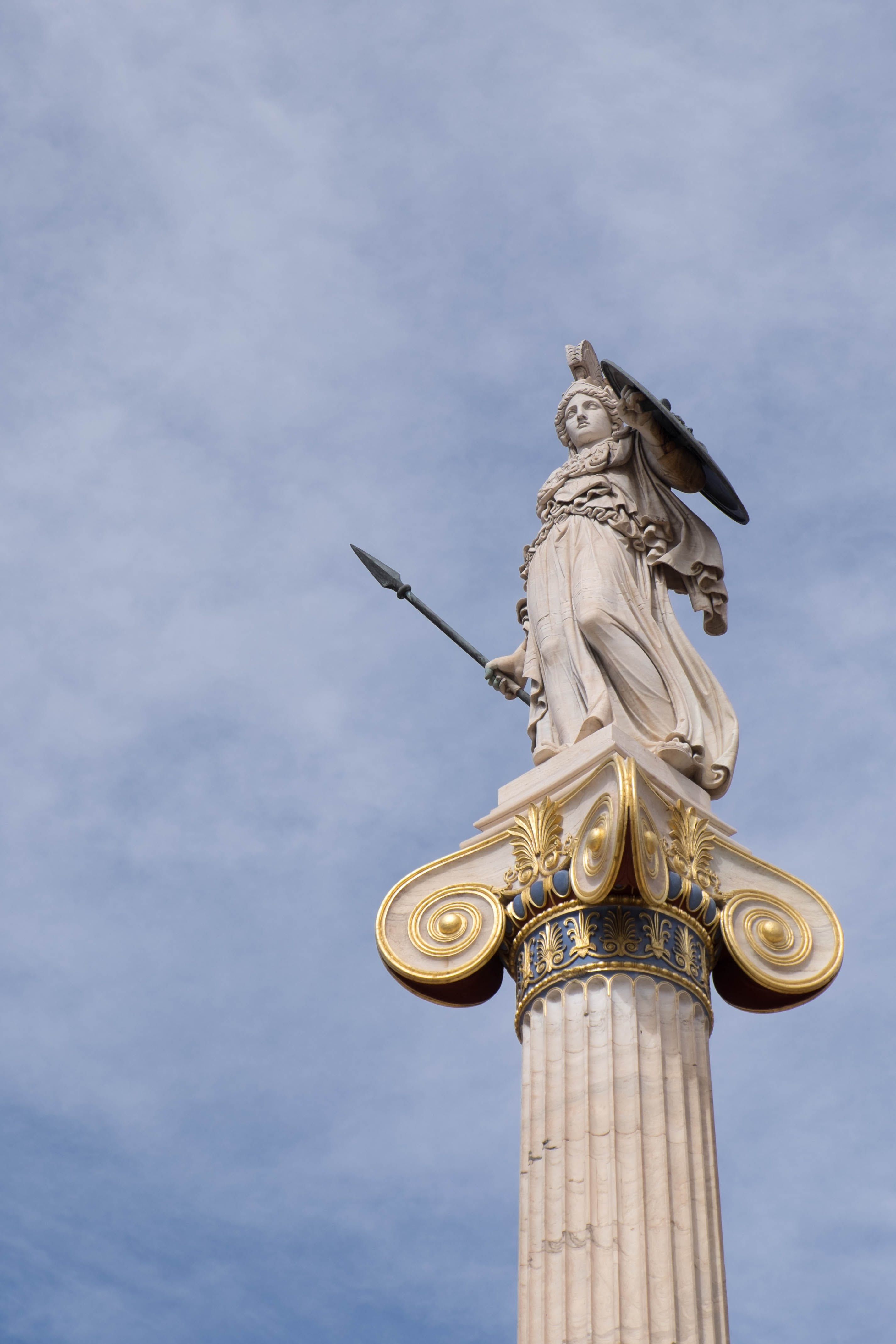 Free stock photo of ancient history, athena, athens, godess