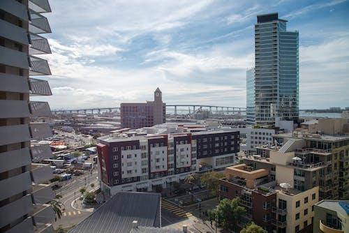 Free stock photo of cityscape, coronado bridge, downtown