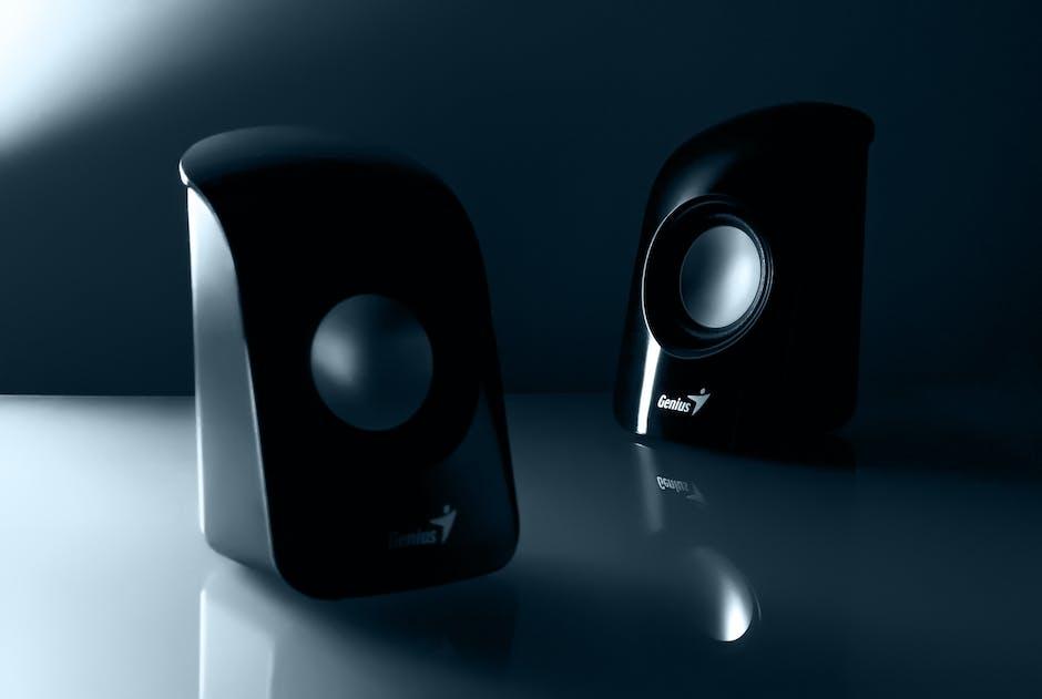 Genius Black Multimedia Speaker