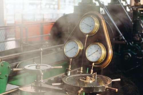 Kostnadsfri bild av ånga, industri, maskin, motor
