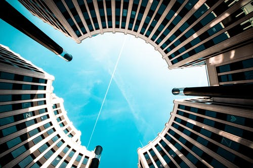 低角度攝影, 城市, 建築, 建築外觀 的 免費圖庫相片