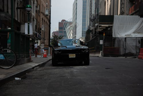 Free stock photo of challenger, dodge, manhattan, new york