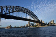 sydney, opera house, Sydney Harbour Bridge