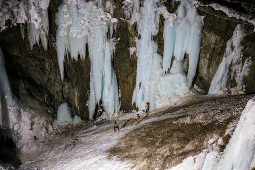 Foto stok gratis Es, gletser, olahraga ekstrem, pegunungan