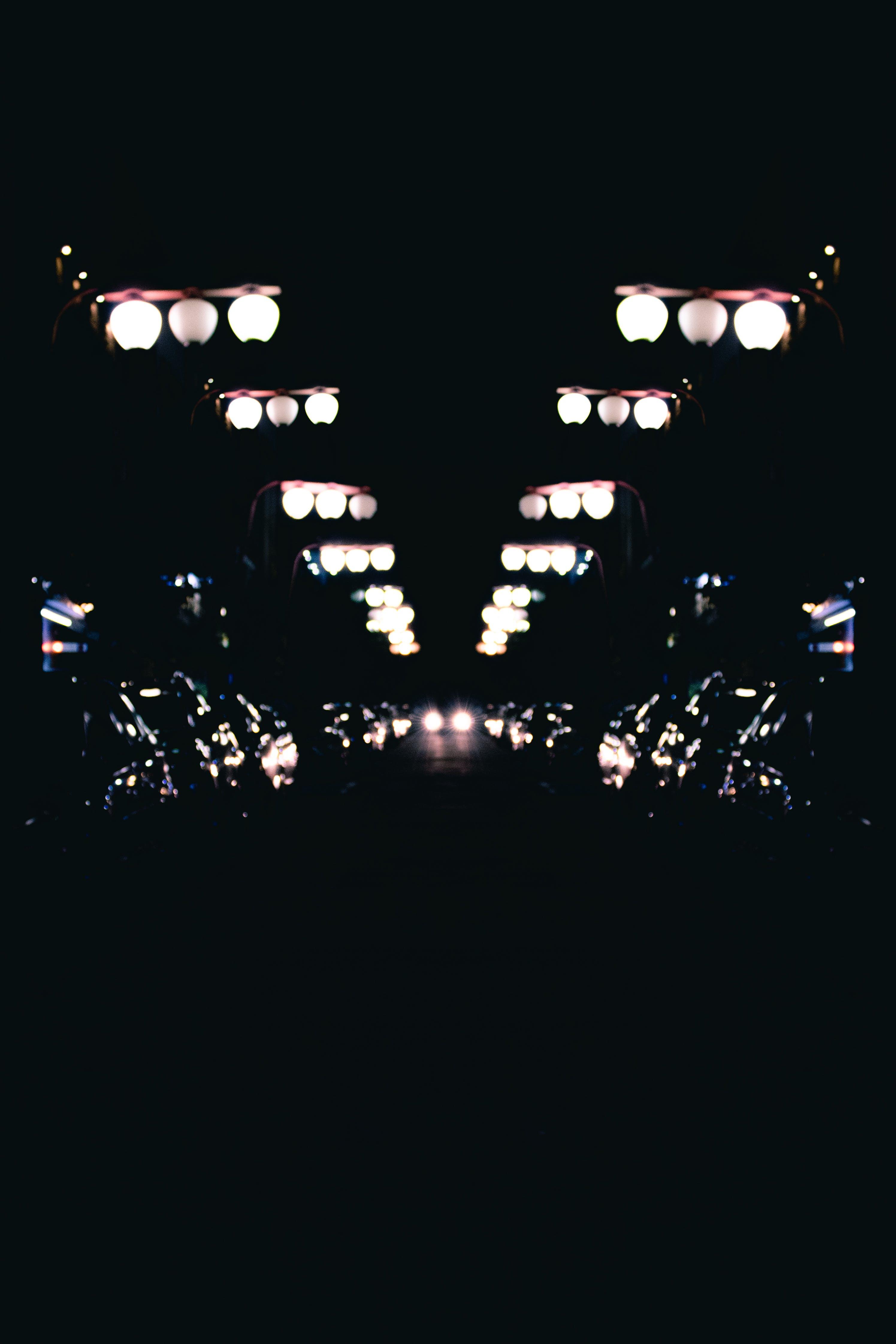 Free stock photo of Asian, big city, car lights, city