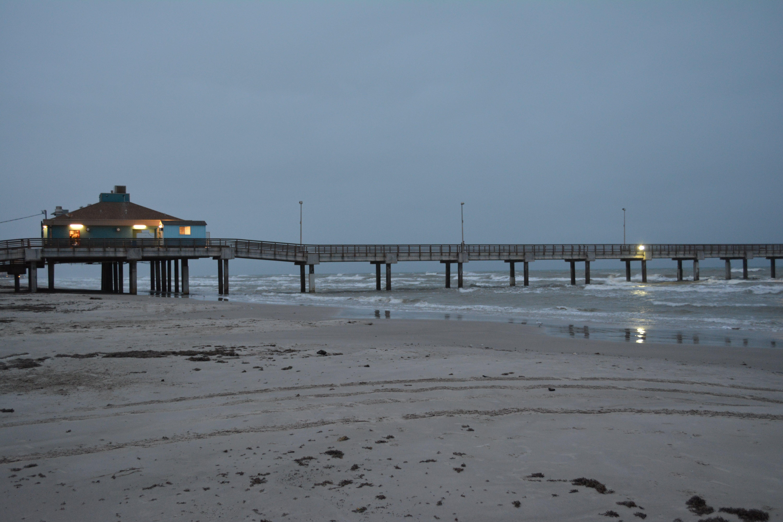 Free stock photo of beach, fishing, fishing pier, lights