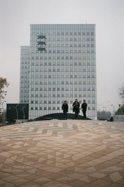Foto stok gratis Arsitektur, bangunan, beton, biro
