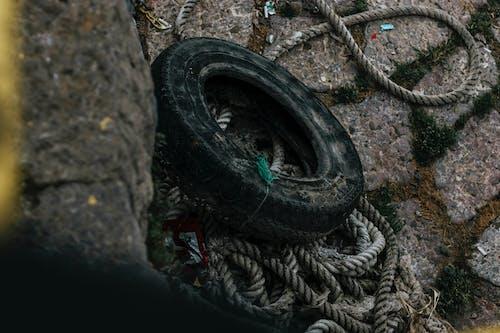 ゴミ, ダーク, タイヤ, ムーディーの無料の写真素材