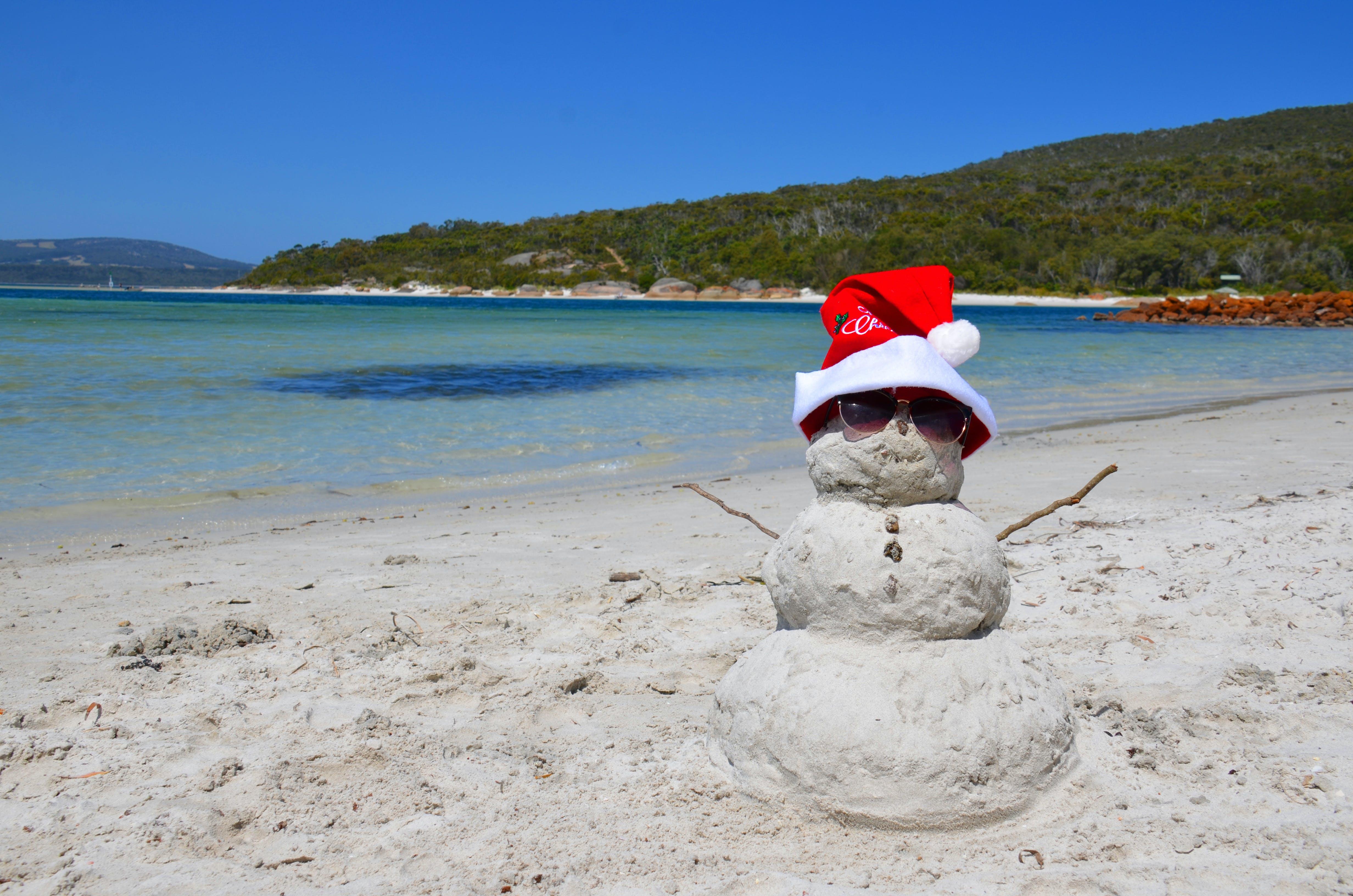 aussie summer, beach, merry christmas