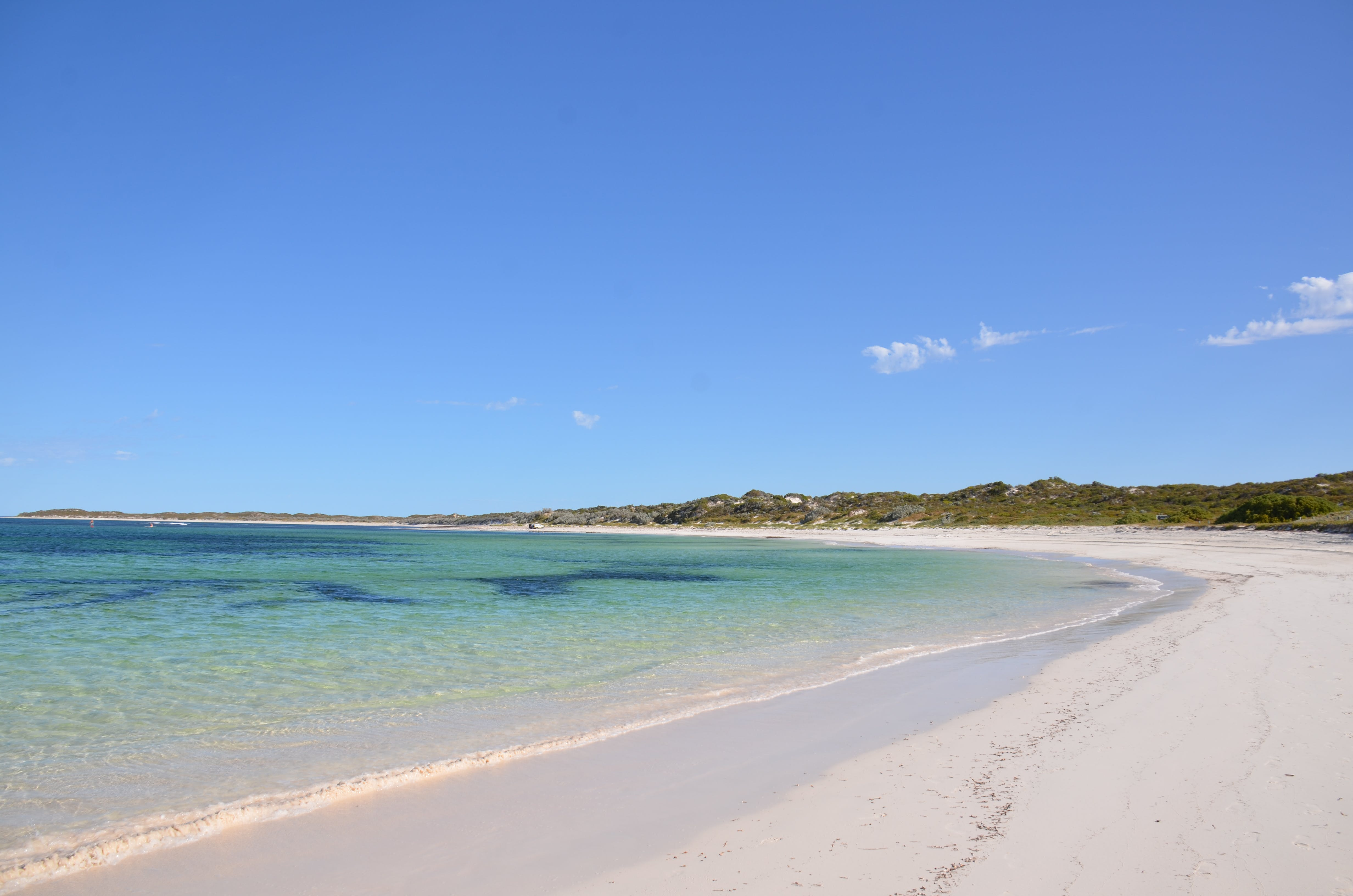 Free stock photo of hang over bay western australia, wide sweep of sandy beach