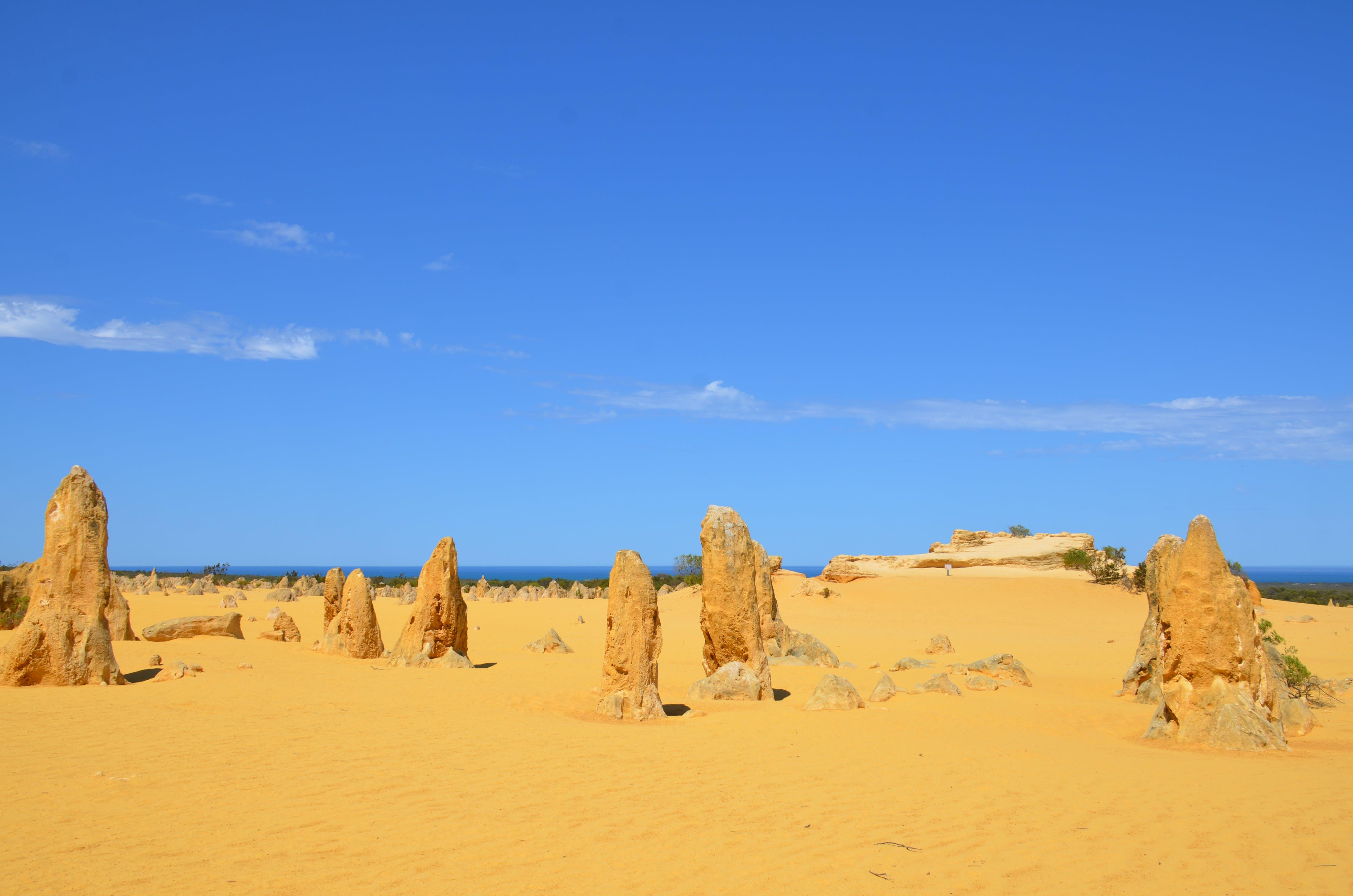Free stock photo of nambung national park, The Pinnacles (Western Australia)