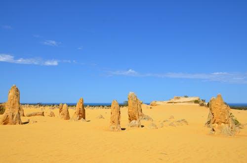 Kostenloses Stock Foto zu die pinnacles (western australia), nambung nationalpark