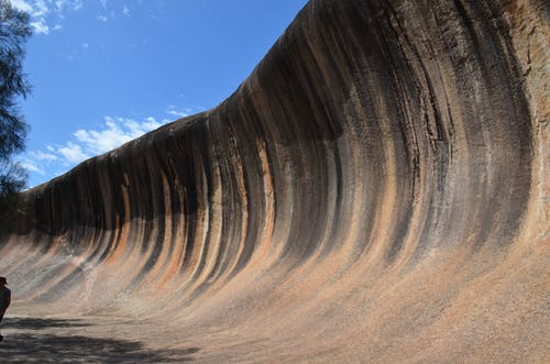 Free stock photo of natural rock formation, outback, Wave Rock, Western Australia
