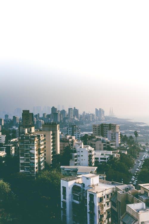 Fotobanka sbezplatnými fotkami na tému bandra worli morské spojenie, budovy, India, mesto