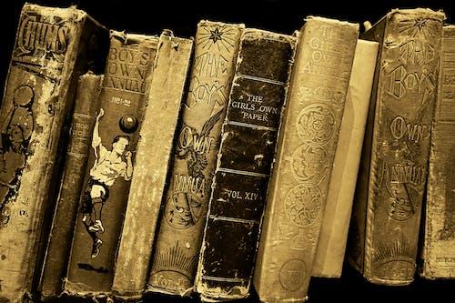 Ảnh lưu trữ miễn phí về những cuốn sách cũ, sách, vàng, đồ cổ
