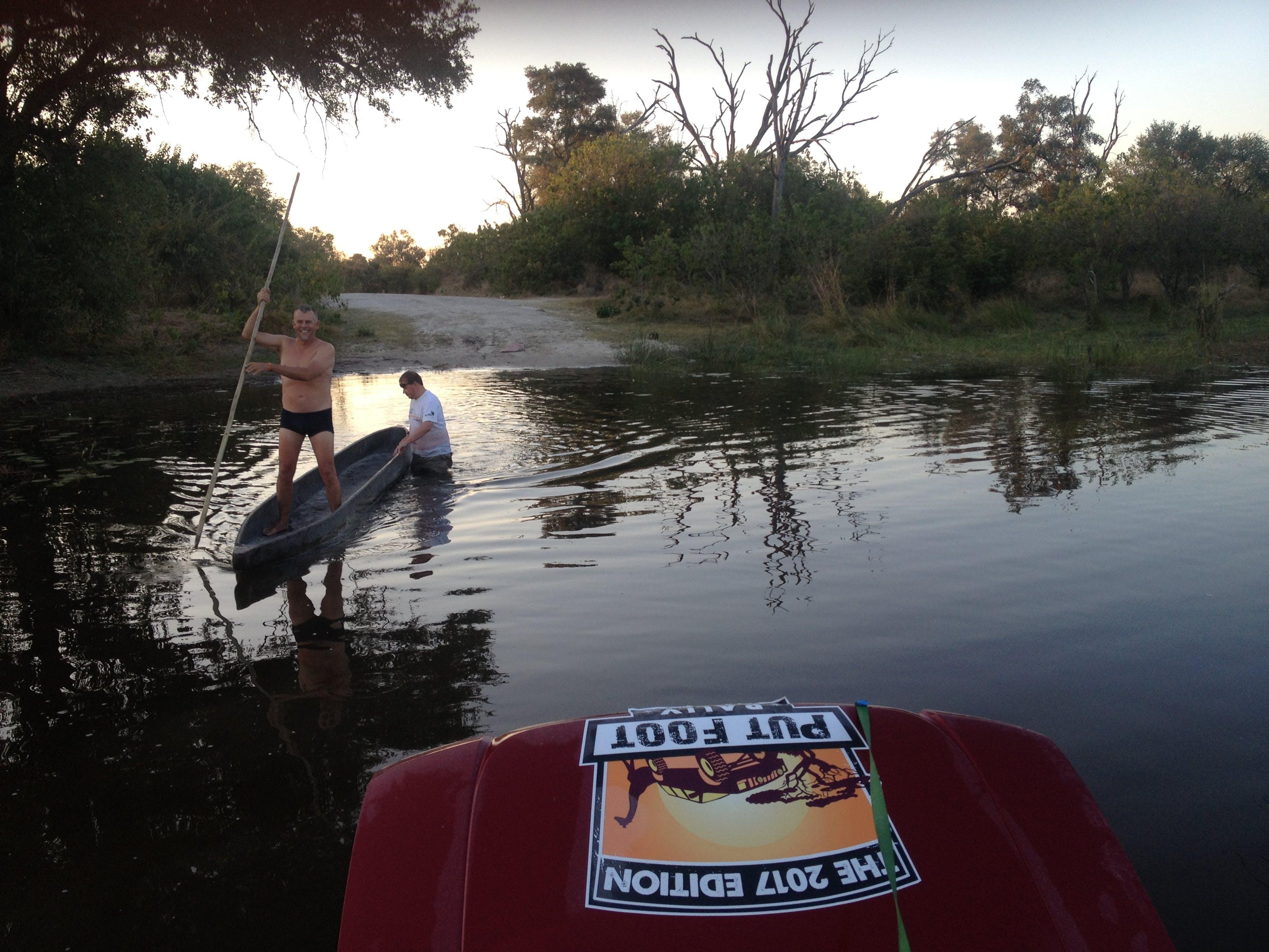 Free stock photo of botswana, canoe, river, stranded