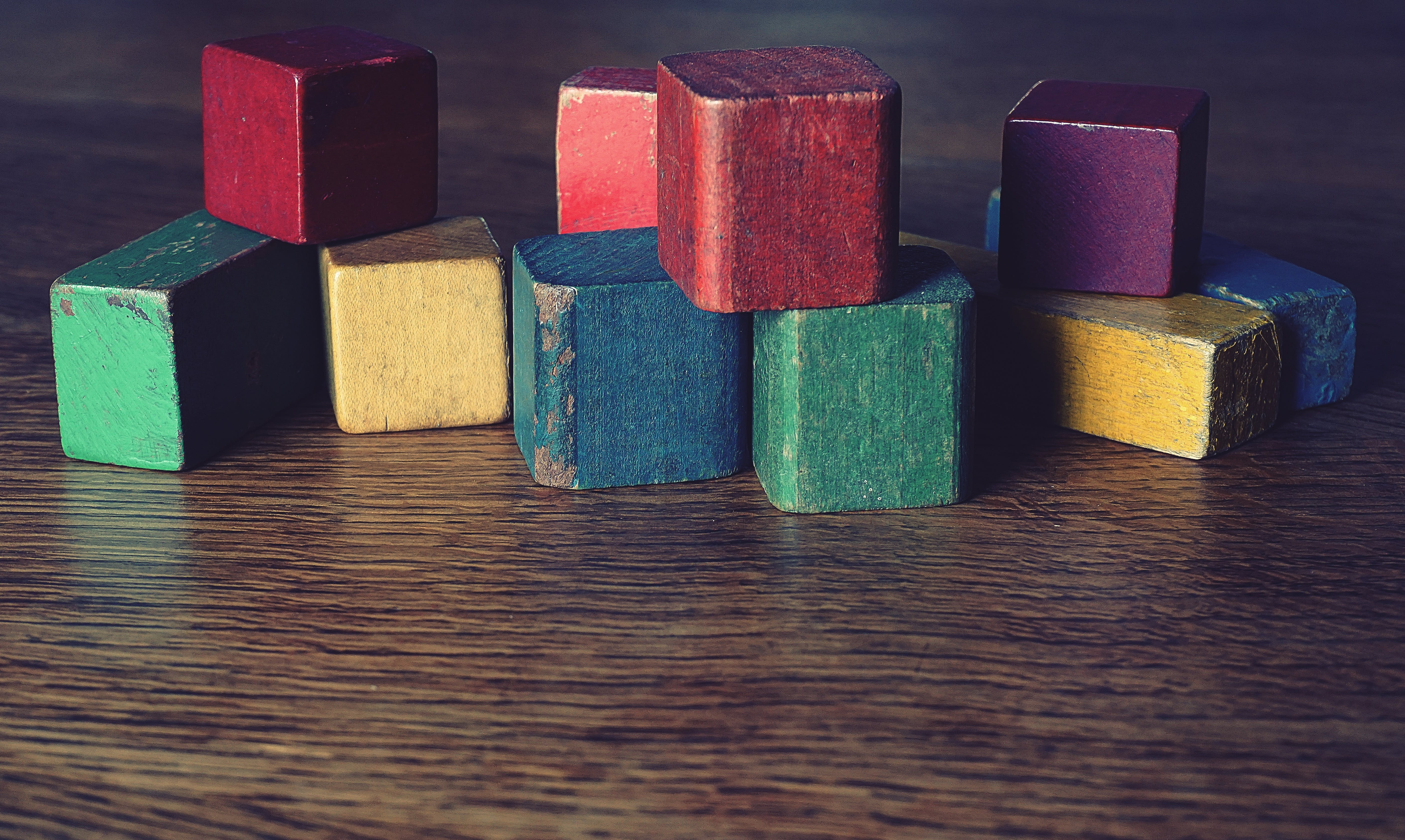 Free stock photo of building blocks, childhood, children, games