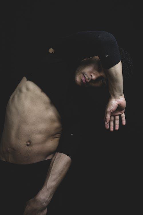 Kostenloses Stock Foto zu abdomen, abs, dressman, ernst