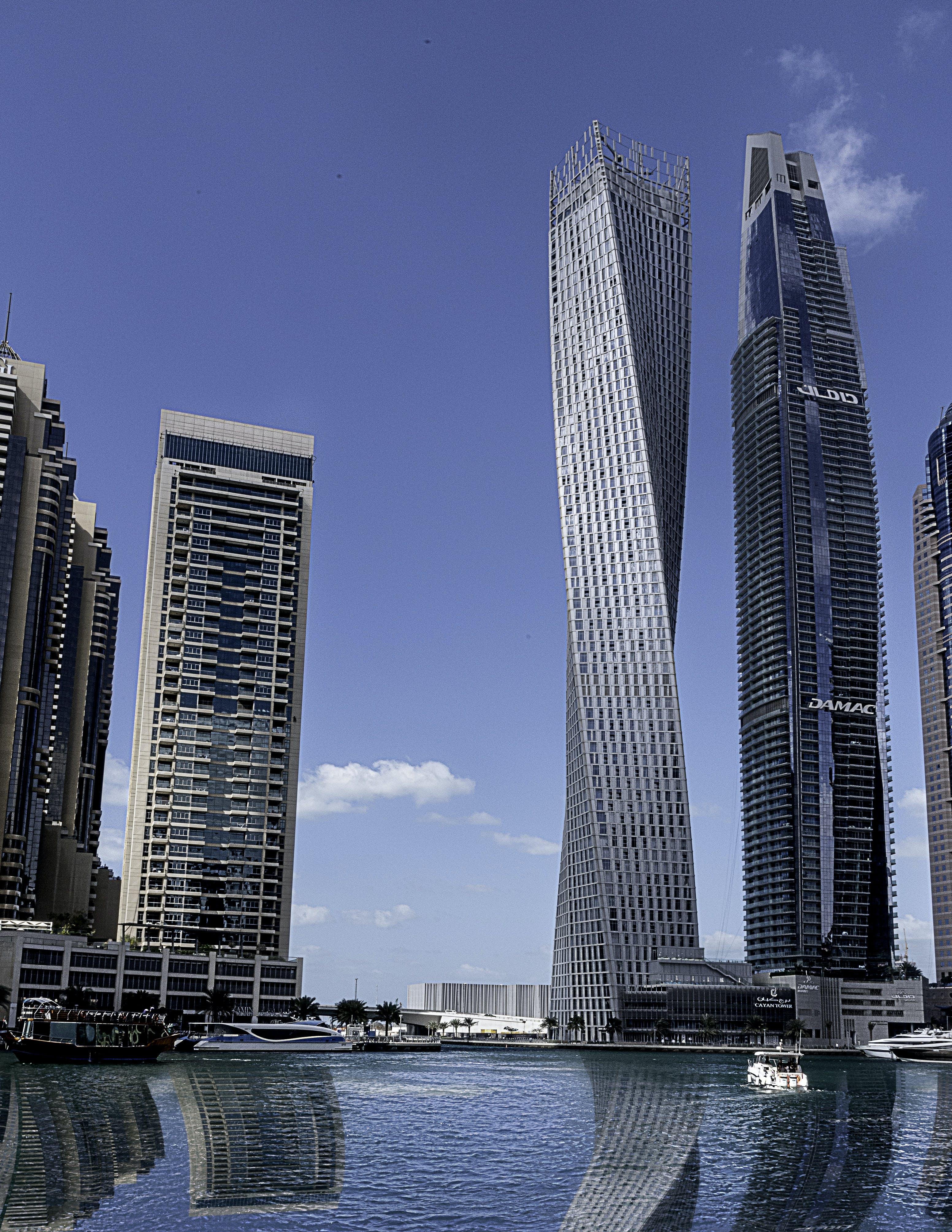 Free stock photo of Dubai Marina, light reflections, sea
