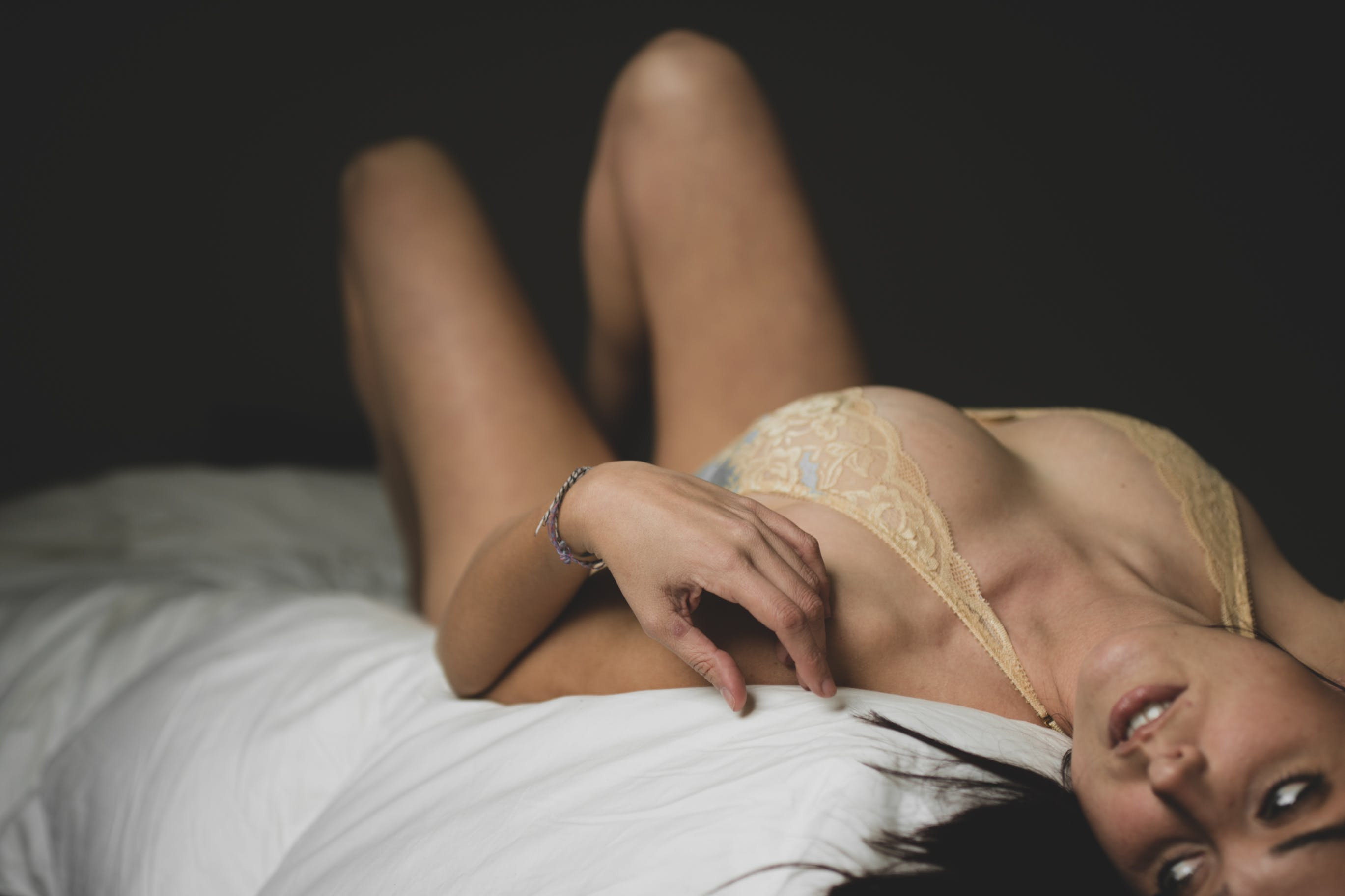 Free stock photo of alone, apartment, beautiful girl, bed