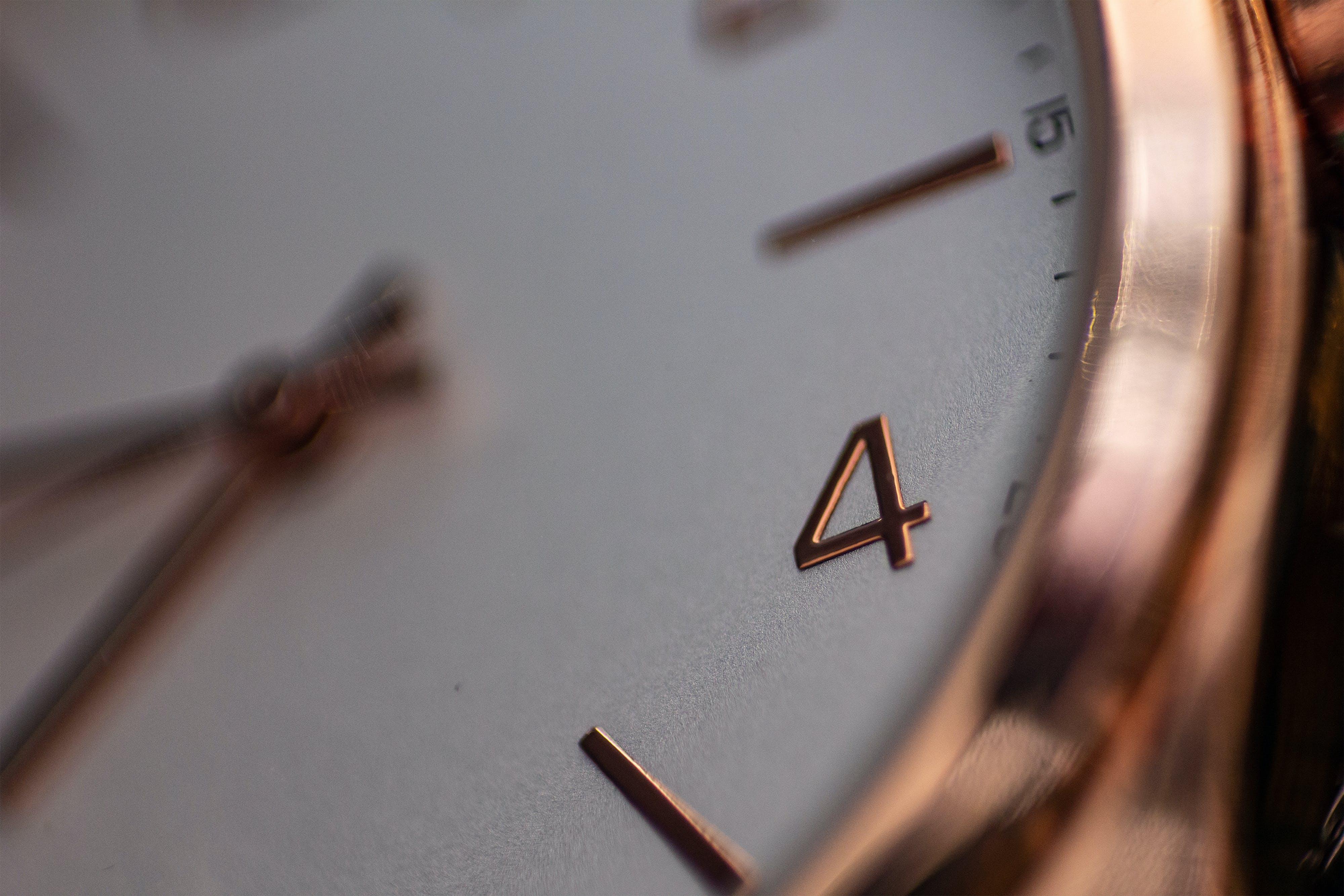 アナログ時計, マクロ, マクロ撮影, 時間の無料の写真素材
