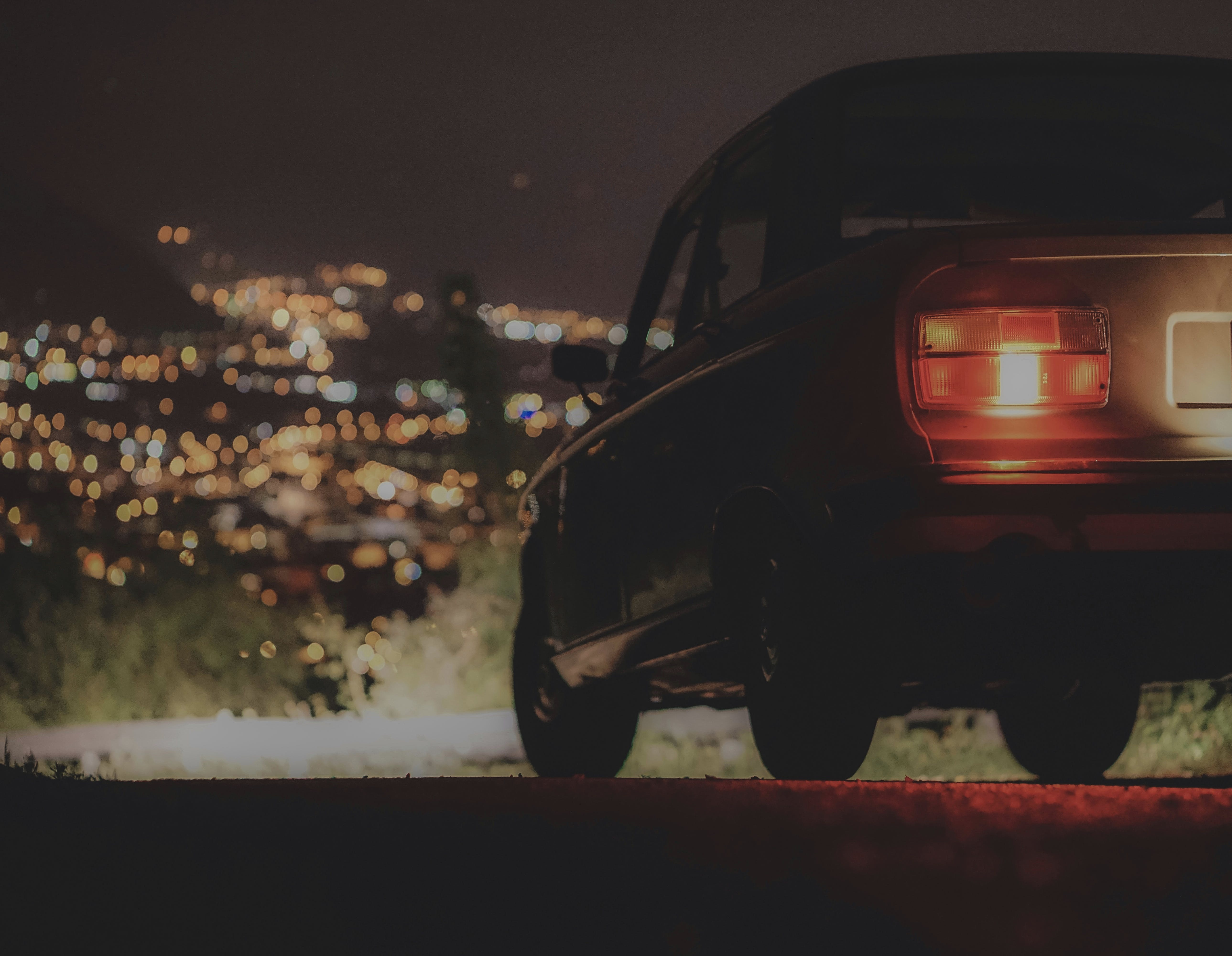 Free stock photo of automobile, automotive, big city, car lights