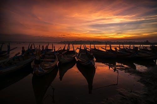 Free stock photo of boats