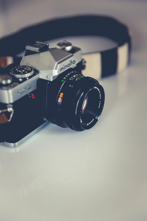 Gratis stockfoto met antiek, beroep, camera, cameralens