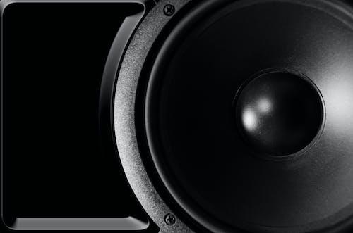Gratis lagerfoto af lyd, musikalsk højttaler