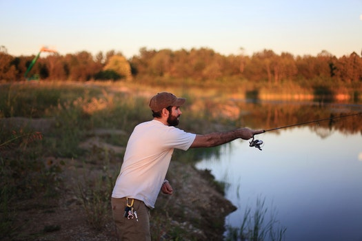 Free stock photo of fishing, landscape, nature, sky