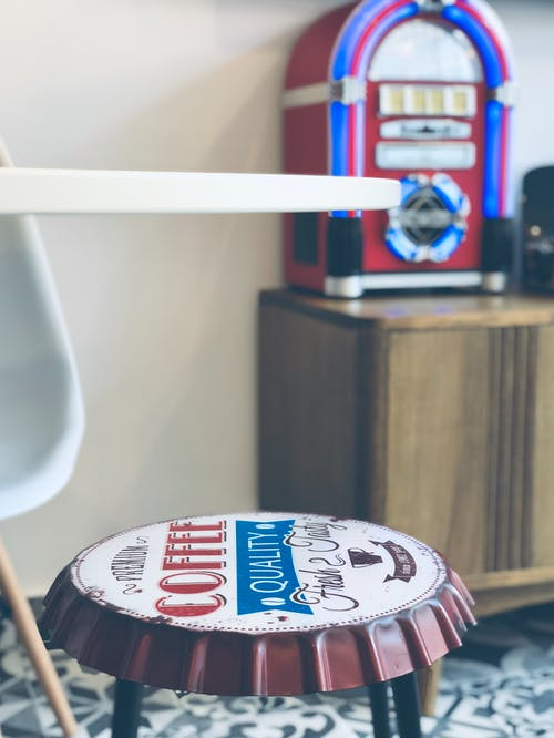 Free stock photo of home decor, homesweethome, jukebox, lovemyhome