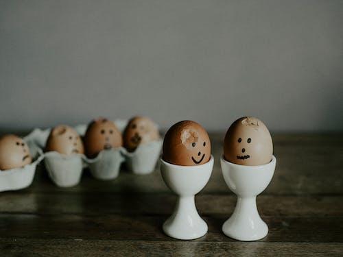 Fotobanka sbezplatnými fotkami na tému jedlo, keramický, vajcia