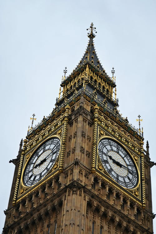 Free stock photo of Big Ben London, Palace of Westminster, the clock tower, UK