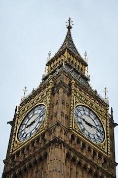 Free stock photo of UK, united kingdom, Palace of Westminster, Big Ben London