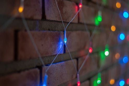 Foto d'estoc gratuïta de llums, llums de fades, llums de Nadal