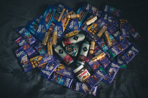 Darmowe zdjęcie z galerii z czekolada, herbata, milka, nutella
